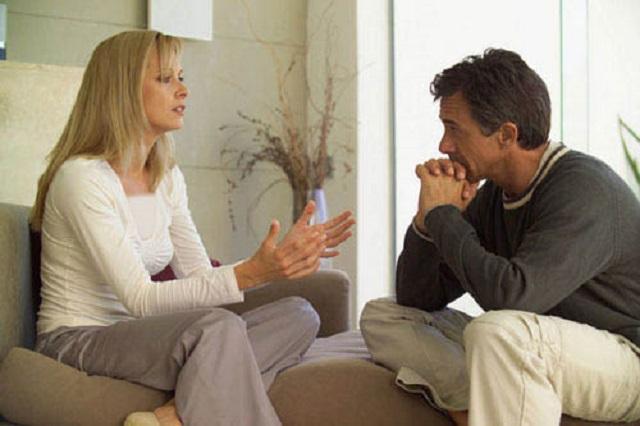 ناتوانی در حرف زدن با همسر
