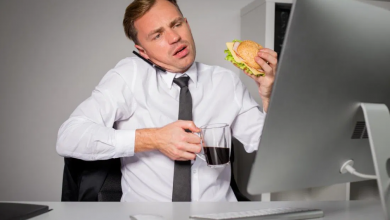استرس باعث چاقی
